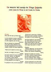"""Cubierta de """"La muerte del carajo de Diego Fajardo"""""""