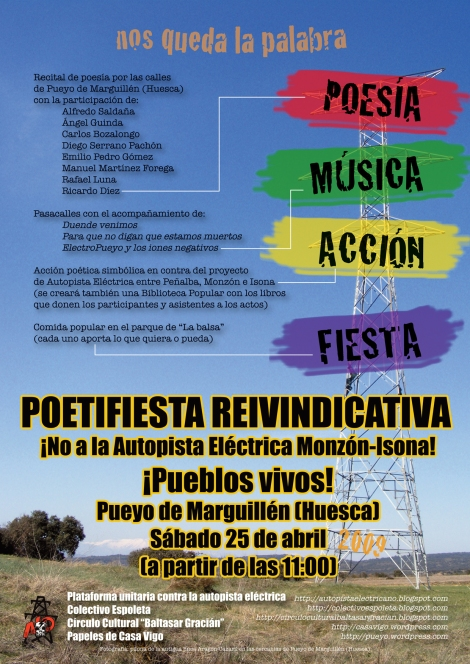 Poetifiesta reivindicativa