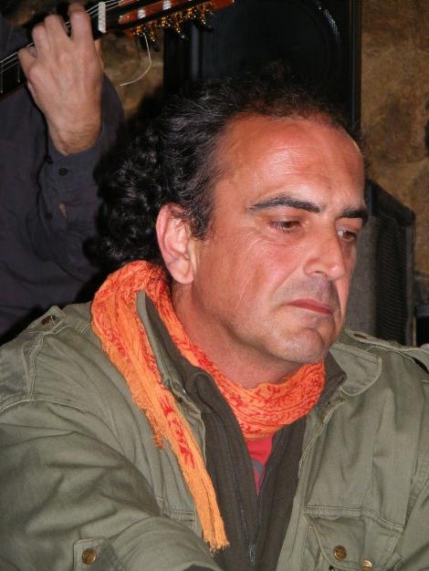 Javier Amilibia tras su intervención (Foto: Carlos)