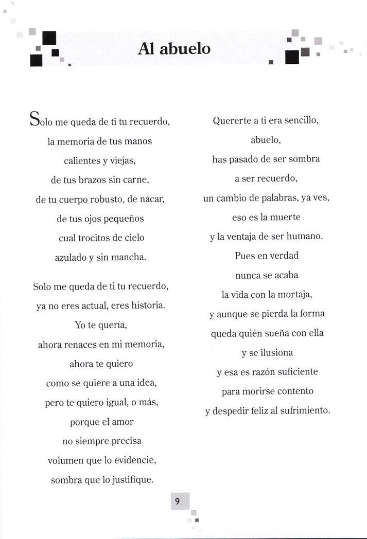 un poema para mi abuelo